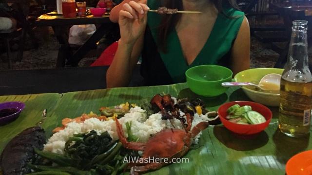 PUERTO PRINCESA plato tipico pescado palawan restaurantes Filipinas traditonal dish Philippines