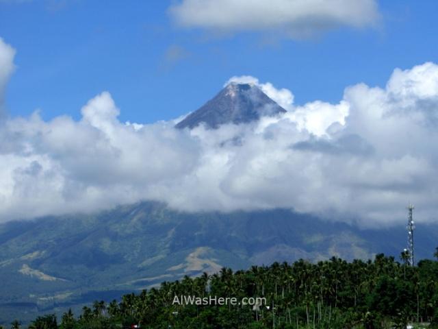 Donsol Legazpi, Monte Mayon Mount Volcano, Philippines, Filipinas