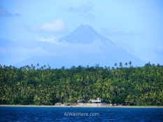 If you can't see the sharks, at least the views of Mount Mayon, which is considered the most perfect volcanic cone in the world, are excellent