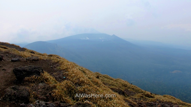 Kirishima Parque Nacional 0. Vista volcano Shinmoedake desde el Karakunidake view National Park Japon Japan Kyushu Ebino Kogen