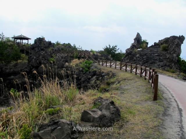 Sakurajima 7. Nagisa Lava Trail, Kyushu Japon Japan.JPG