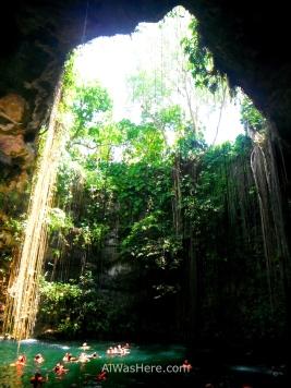 Ik Kil cenote, Yucatan, Mexico