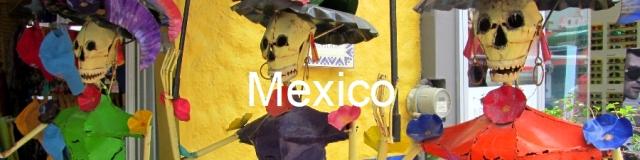 Mexico skulls