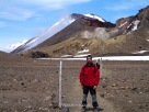 Me in the Tongariro Alpine Crossing, New Zealand