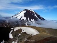 Mount Ngauruhoe, Tongariro Alpine Crossing, New Zealand